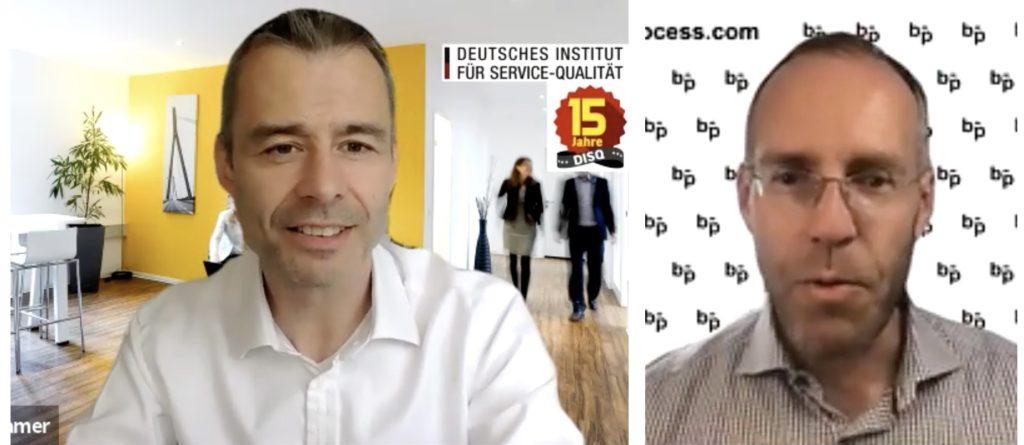 Interview Thomas Liebetruth mit Markus Hamer zu innovativen Serviceprozessen